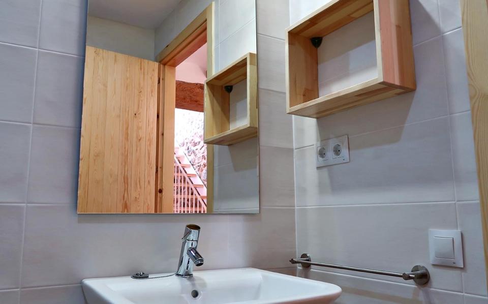 casa rural vilaplana baño